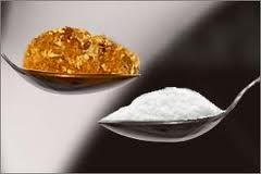 sugar acid jaggery alkaline