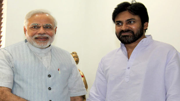 modi and pawankalyan