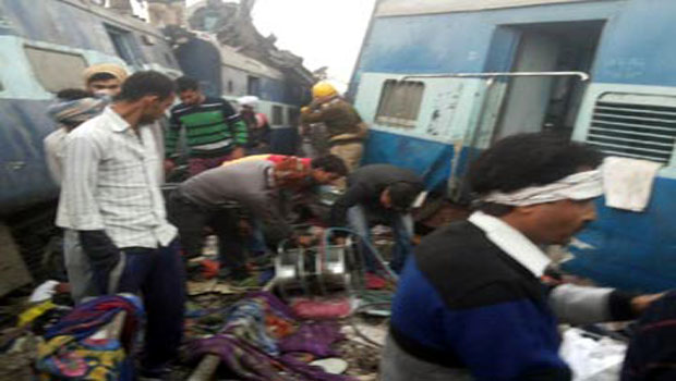 patna indore train accident