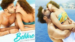 censor board approved of befikre movie lip lock kiss scenes