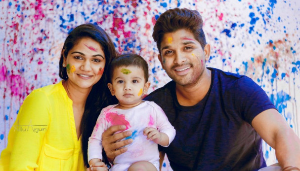 allu arjun blessed a baby girl
