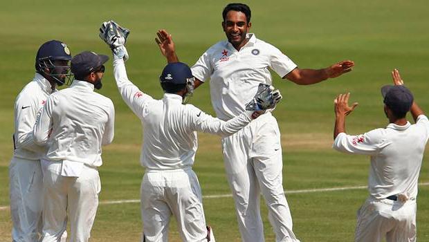 india vs england visakhapatnam test match won by india