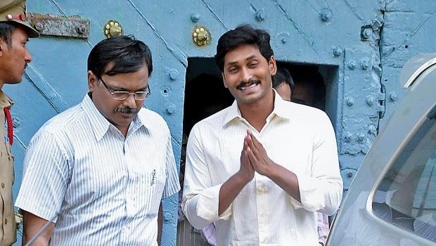 jagan jail entry