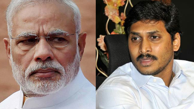 ysrcp mps are attacking on jagan through modi