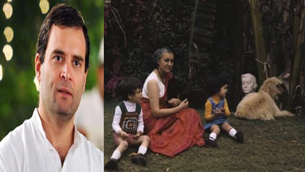 rahul gandhi tweet about my grandmother is my best director