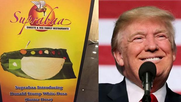 donald Trump White Dosa