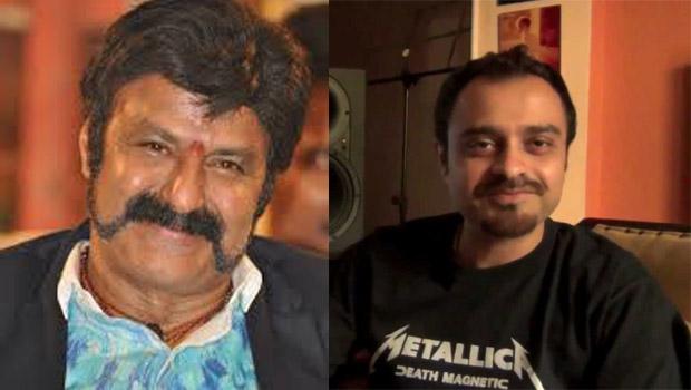 balayya praising music director