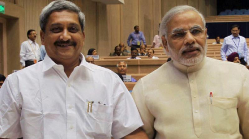 manohar parikar about modi demonitization