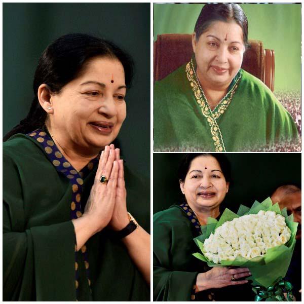 jaya favourate green,jayalalitha green sarees,jaya witg green saree,amma completed with green