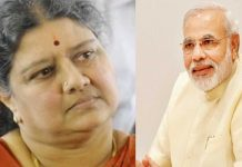 sasikala vs modi in tamil nadu politics