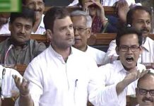 rahul gandhi said to modi come parliament and discussion on currency banned issue