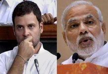rahul gandhi does not reached to modi in talking power and decision