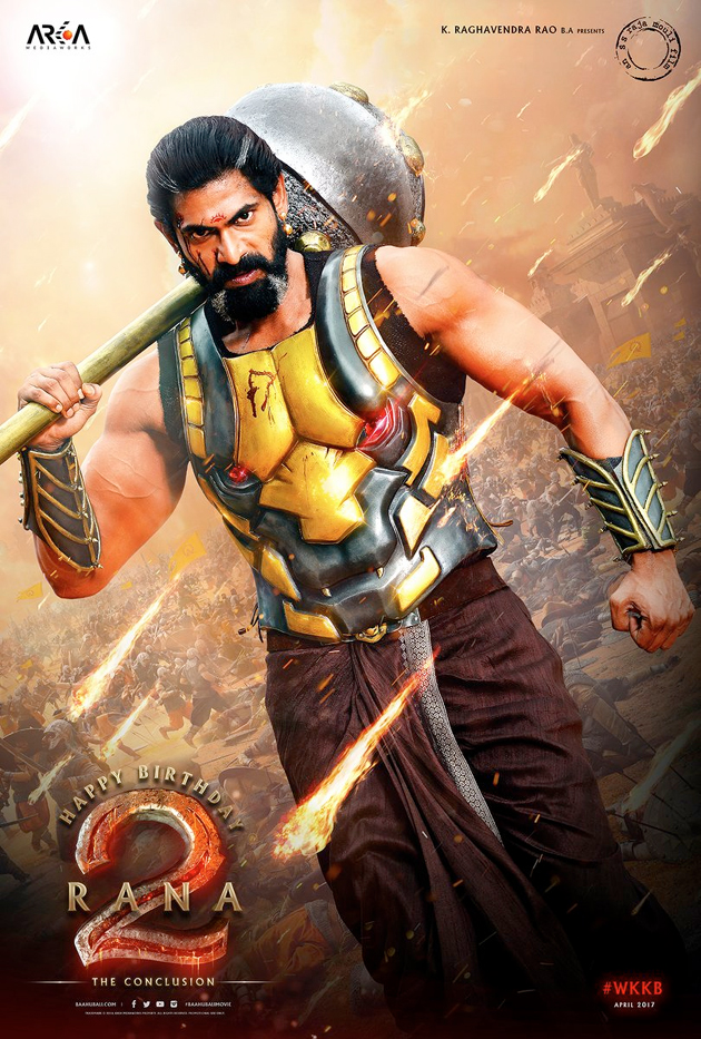 Bahubali Rana Bhallaladeva Look Released
