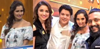 saniya mirza gave smart answer to sajid khan question in yaaron ki baraat show zee tv