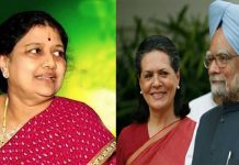 sasikala like as sonia gandhi in tamil nadu politics