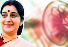 sushma swaraj kidney transplant operation success