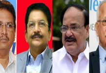 venkaiah naidu cs ram mohan vidhya sagar and prathap reddy play key role in tamil nadu