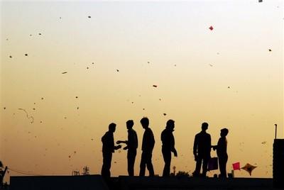 kites festival decreased