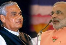 Modi Dancing with Atal Bihari Vajpayee