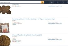 amazon cow dung sale