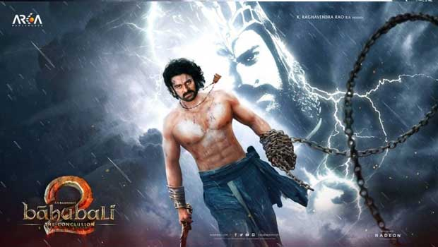 bahubali 2 poster creating senstion