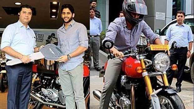 chaitu new bike cost 27 lacks