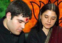 bjp kept gandhi family aside