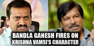 ganesh bad comments on krishnavamsi