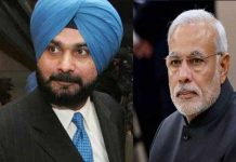 sidhu taking revenge on modi