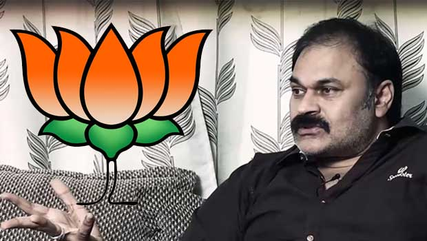 nagababu join hands with bjp