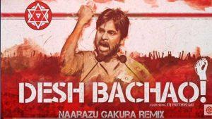 Pawan Kalyan Releases Musical Album Desh Bachao for ap special status