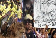 tamilnadu celebrities and political leaders are participated to support on jallikattu banned