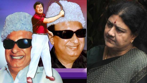 sasikala want celebrate mgr birthday in ap karnataka and tamilnadu