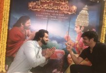 nagarjuna had adieu with saurabh jain god of om namo venkatesaya movie