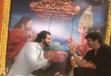 nagarjuna had adieu with saurabh jain god of om namo venkatesaya movie