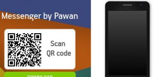 pawan messenger android app vizag student discovered