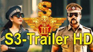 surya singam 3 latest telugu trailer