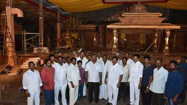 cine setting for mlas son marriage