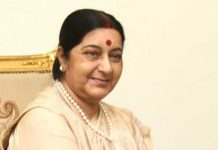 sushma swaraj is front in govenor competation