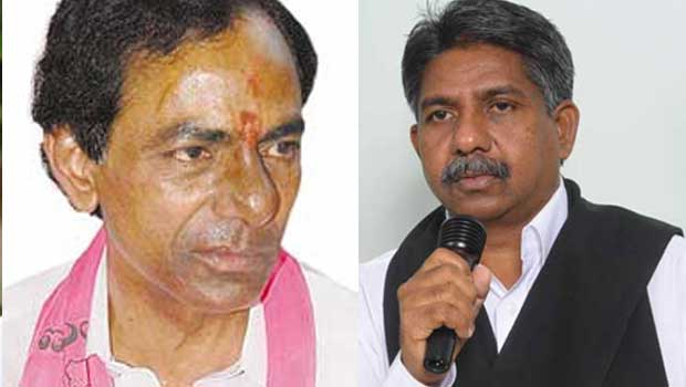 mandakrishna shock to kcr