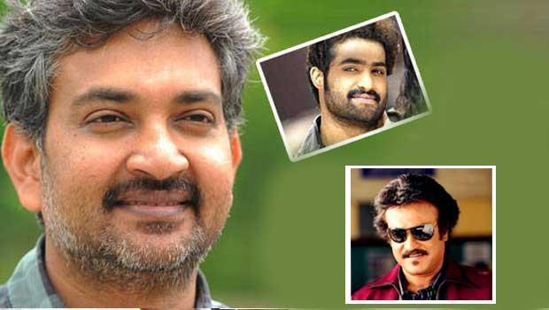 rajani,ntr and rajamouli combination movie