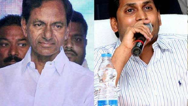 kcr disappointed for jagan