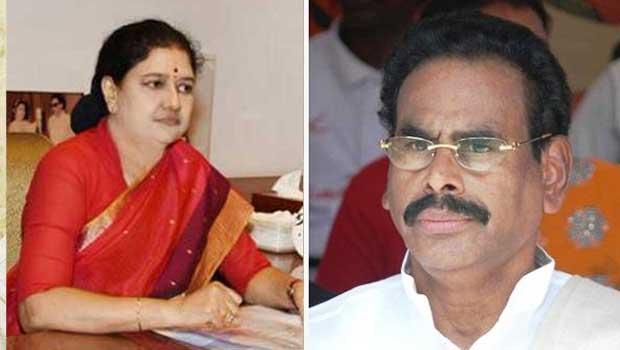 sashikala into cm chair and natrajan into hospital