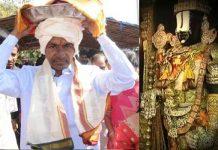 kcr to gift gold to tirumala balaji