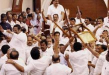 war in assembly tamilnadu