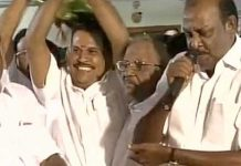 seravanan jump to panneer selvam party