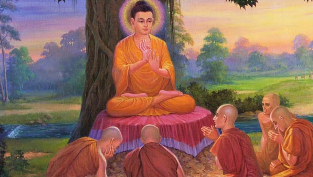 buddha says if trouble your Heartstrings control yourself few minutes