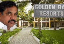 golden bay resorts no bill payment because of palaniswamy owner of that resort