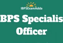 ibps specialist officer jobs