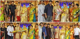 Music Director Koti Son Rajeev Wedding Reception photos